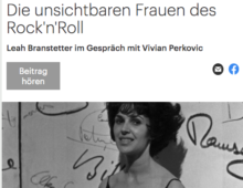 Interview with Vivian Perkovic, Deutschlandfunk Kulture
